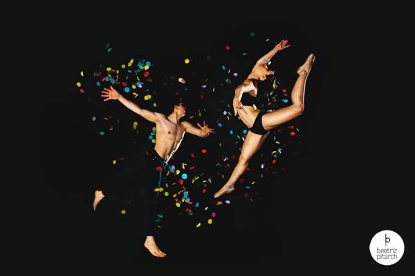 """Instantánea inspirada en el """"Let's Dance"""" de Bowie. De la exposición """"Fotocanciones"""" de Beatriz Pitarch."""