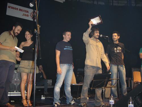 Estige en los VI Premios de la Música Aragonesa