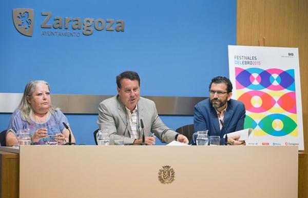 Rueda de prensa de los Festivales del Ebro 2015