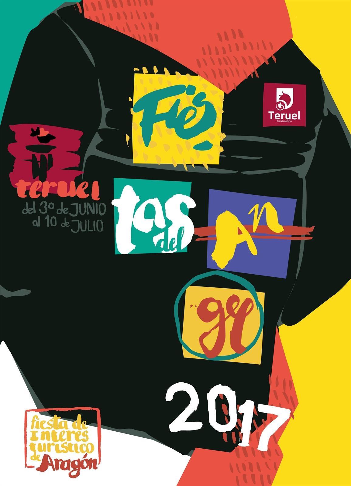 Cartel Fiestas de Teruel 2017