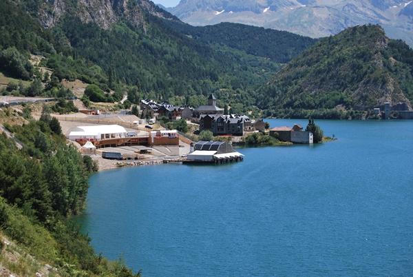 Auditorio Natural de Lanuza donde tiene lugar Pirineos Sur.