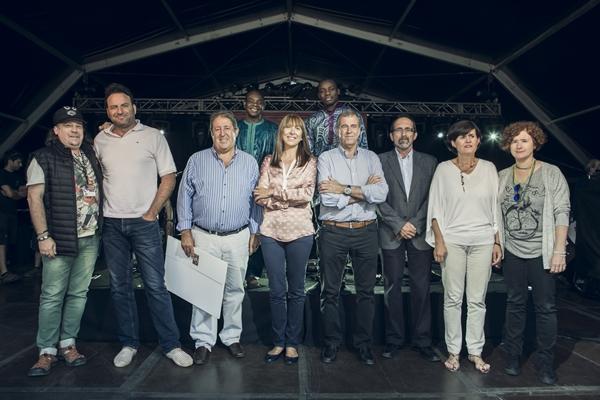 Premiados y Organización de Pirineos Sur. Por: Jorge Fuembuena