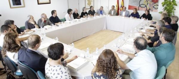 Primera reunión del Consejo de la Cultura de Aragón