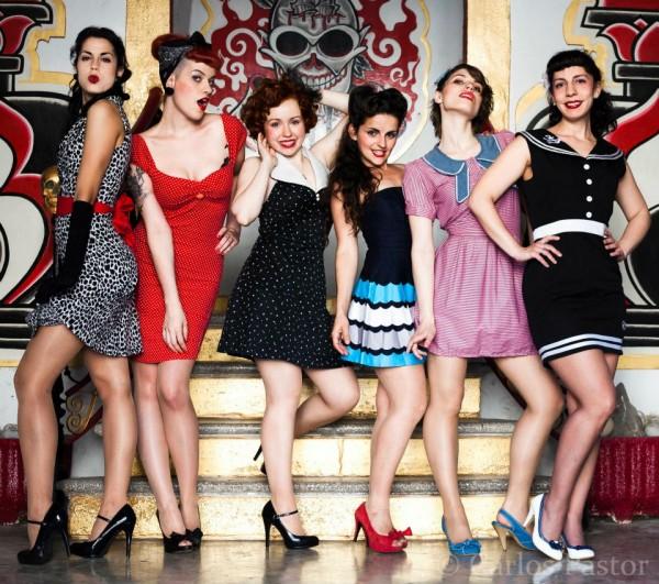 The Ladies. Por: Carlos Pastor.