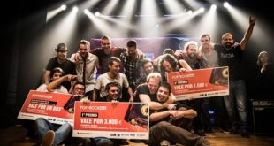 Grupos ganadores del Popyrock iMas 2015. Por: Alo_Photo.