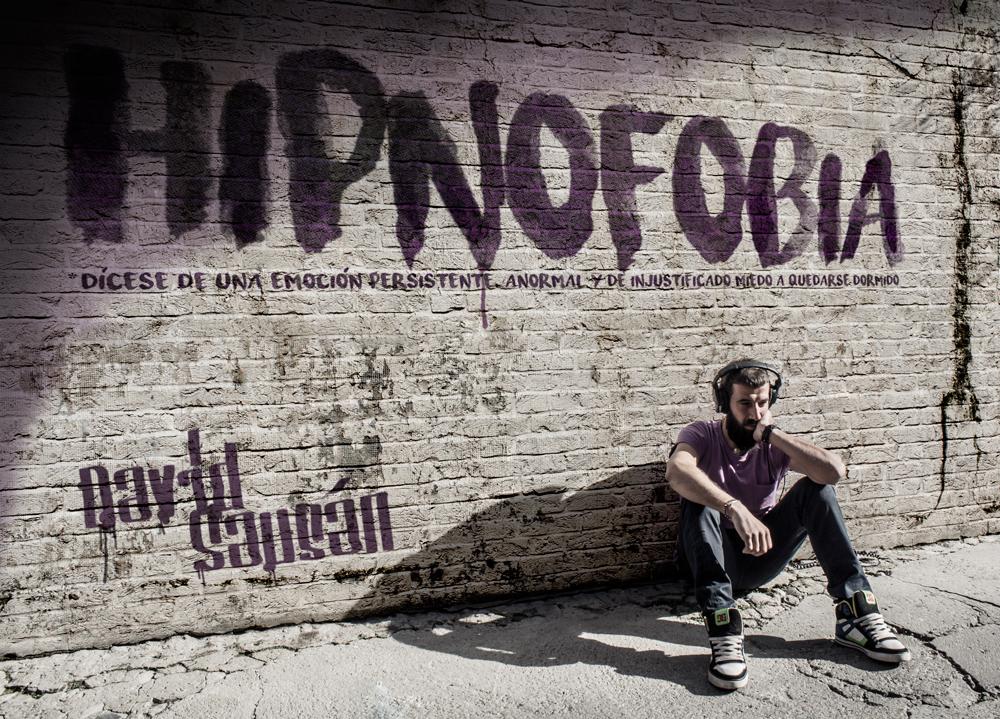 Portada de Hipnofobia, de David Sausán
