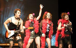 Dadá durante los XII Premios de la Música Aragonesa Aragón Musical