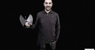 Luis Lles, nuevo director de Pirineos Sur, tras los XII Premios de la Música Aragonesa.