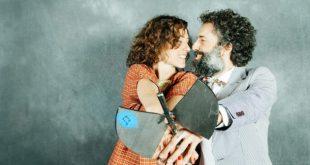 Pecker y María Tresaco en los XV Premios de la Música Aragonesa Aragón Musical. Por: Beatriz Pitarch.