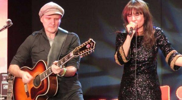 Eva Amaral y Juan Aguirre durante el concierto del 3º aniversario de Radio 3 Extra. Fuente: Radio 3