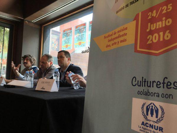 Presentación del Culturfest 16.1