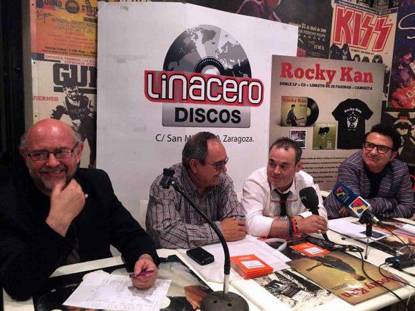 Presentacion del proyecto que reeditará la discografía de Rocky Kan. Por: Aragón Musical.