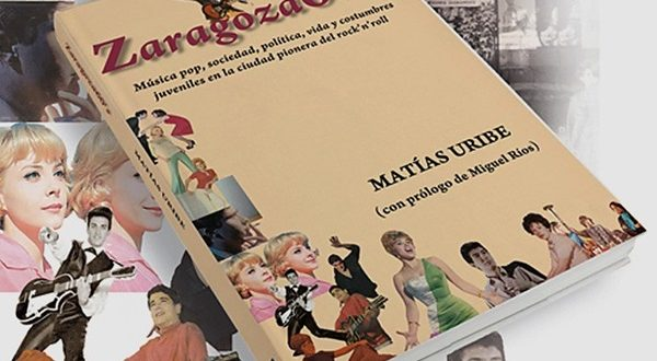 Portada del libro Zaragoza 60s de Matías Uribe