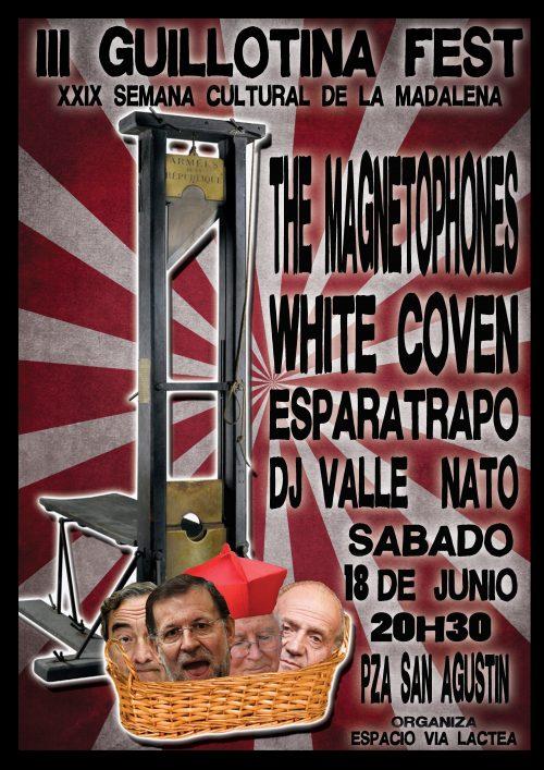 Cartel del III Guillotina Fest