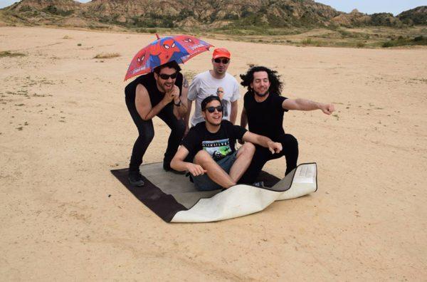 Ariday durante la grabación de su videoclip'Tocar el cielo'