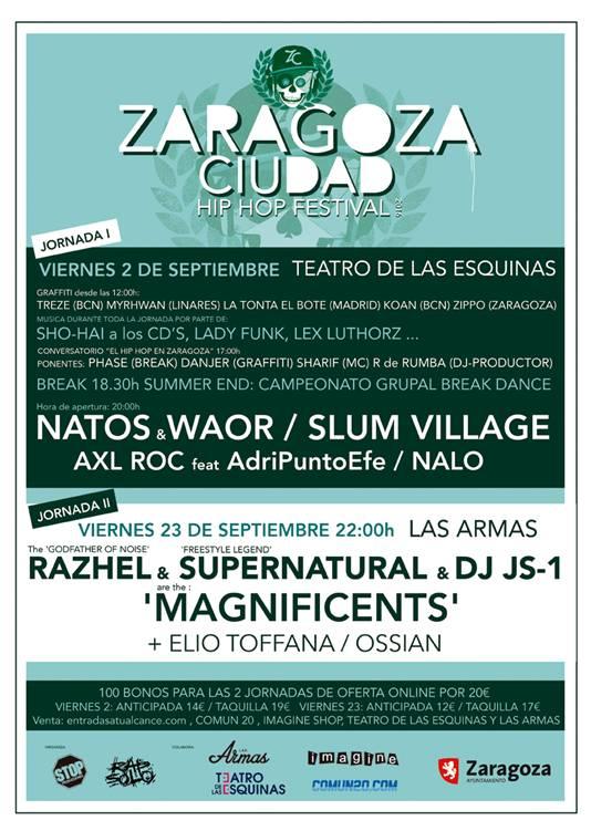 Cartel Zgz Hip Hop Festival 2016