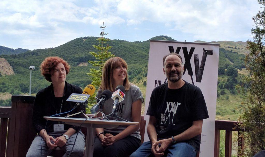 Luis Lles en sus labores de Director de Pirineos Sur en 2016
