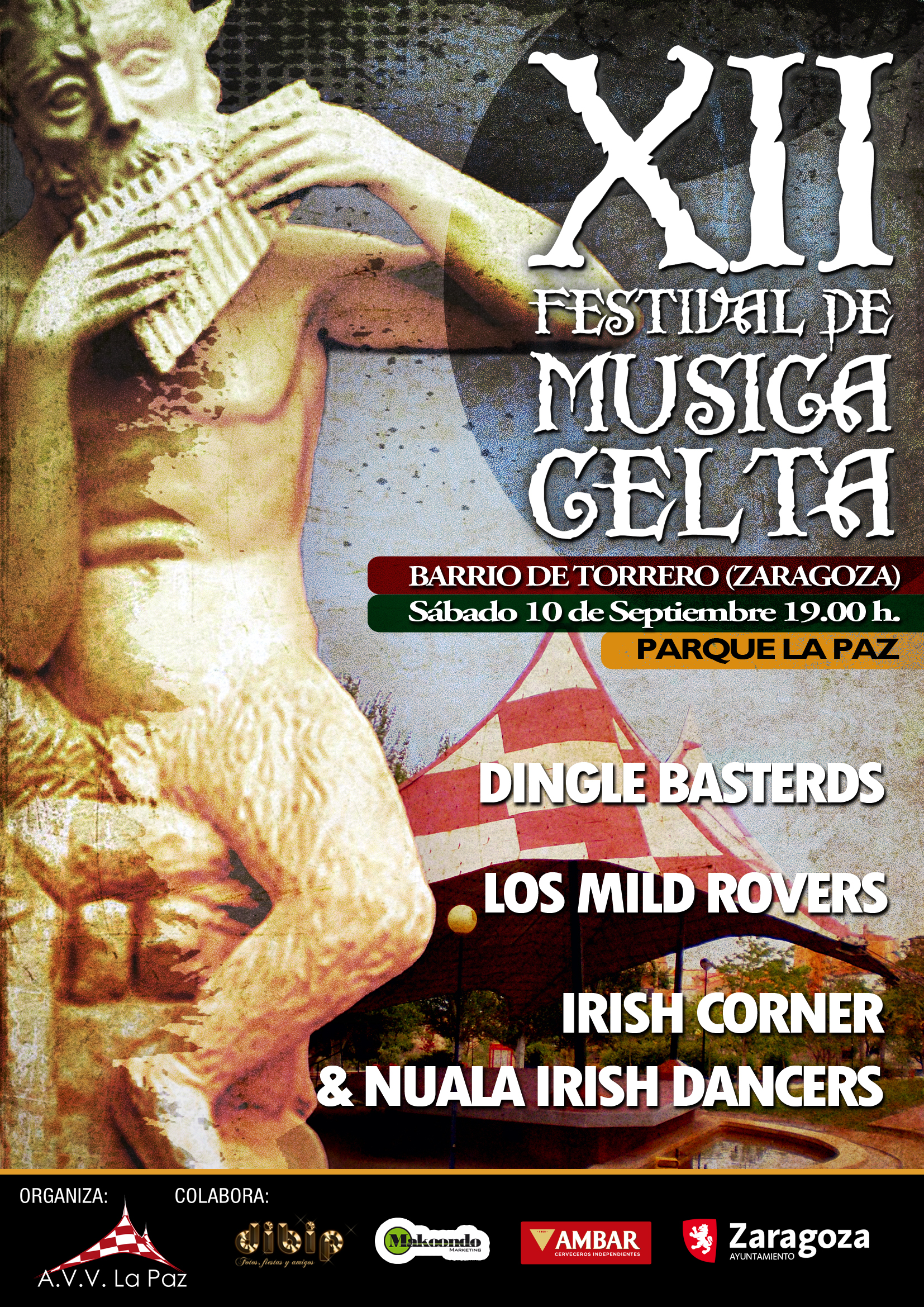 XII Festival de Música Celta Barrio de Torrero