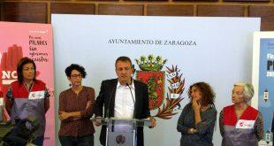 Uno de los momentos de la presentación de la agenda de los Pilares 2016. Por: Aragón Musical.