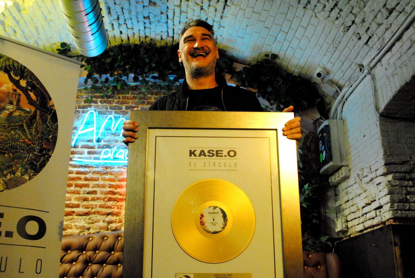 Kase.O Disco de Oro