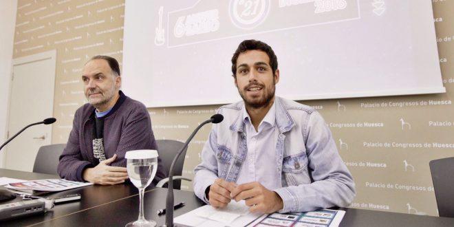 Luis Lles y Luis Costa. Foto, Miguel García