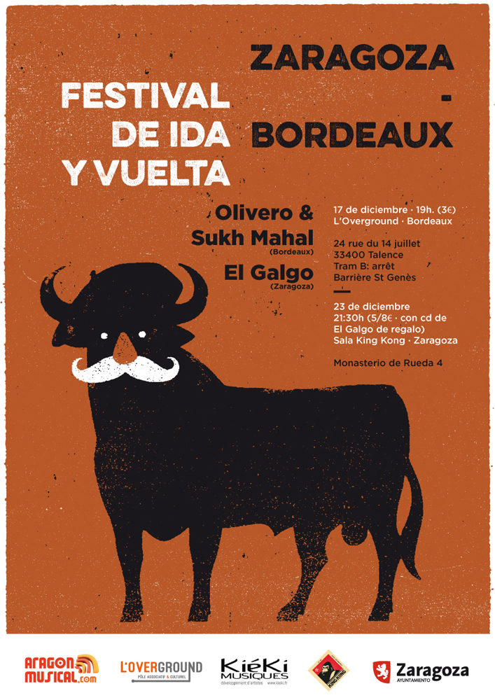 Cartel en castellano festival ida y vuelta 2016