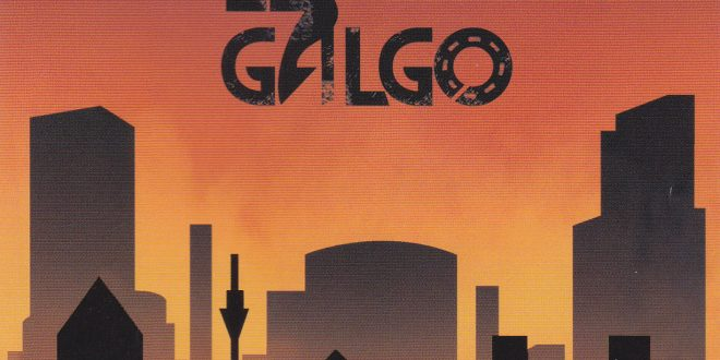 """Portada del disco, El Galgo, """"Caminar"""""""