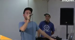 Rapsusklei presentando 'Origami' en directo vía streamig