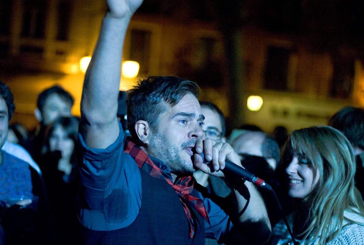 Marah durante el 12º aniversario de Aragón Musical. Por Ángel Burbano.