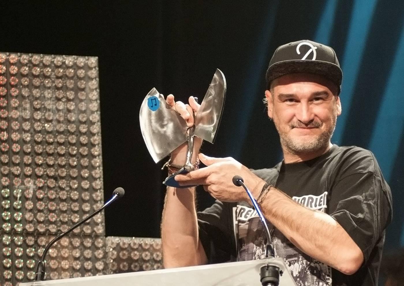 Kase.O recoge una de las categorías de los XVII Premios de la Música Aragonesa Aragón Musical