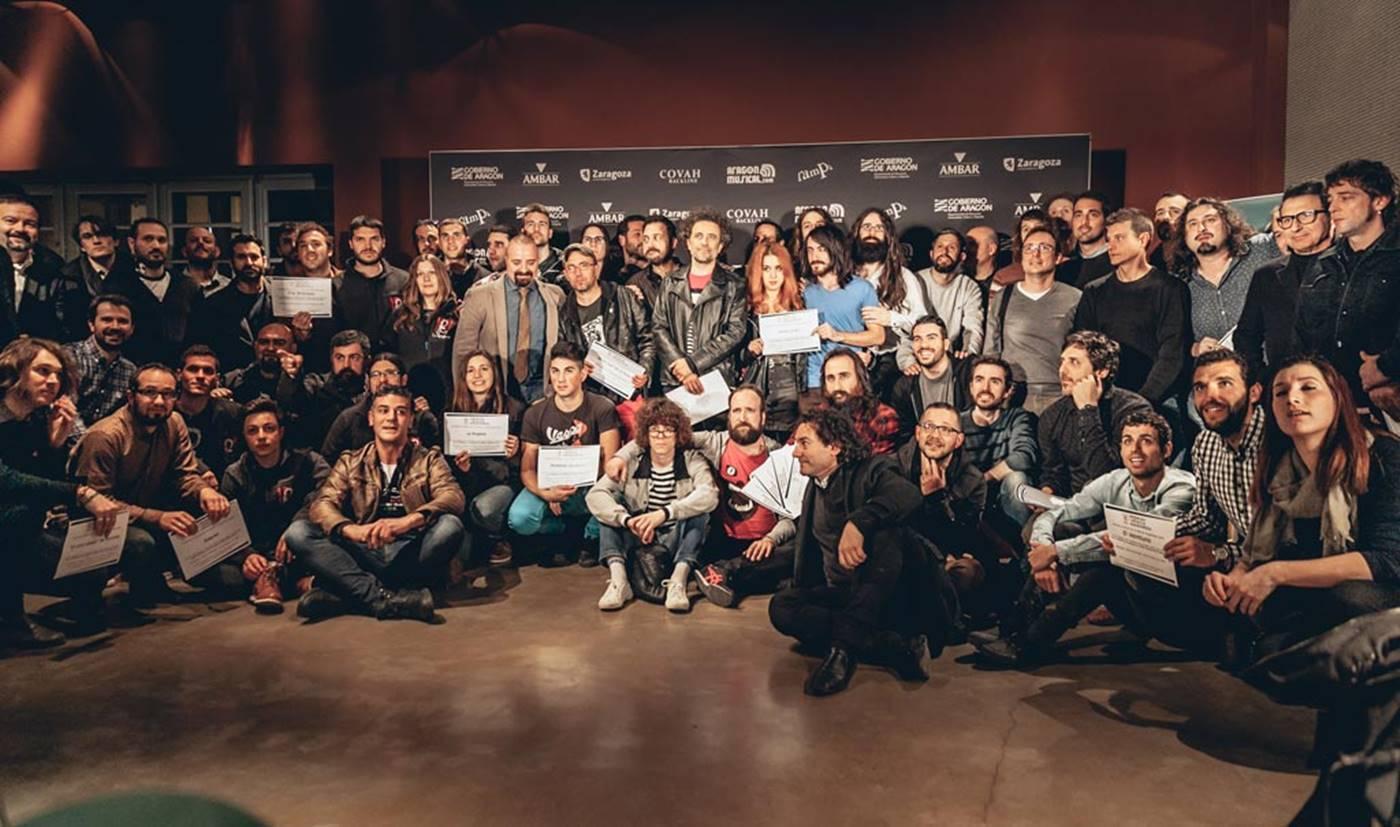 Nominados a los XVII Premios de la Música Aragonesa Aragón Musical