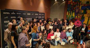 Lectura de nominaciones, Foto de familia XVIII Premios de la Música Aragonesa