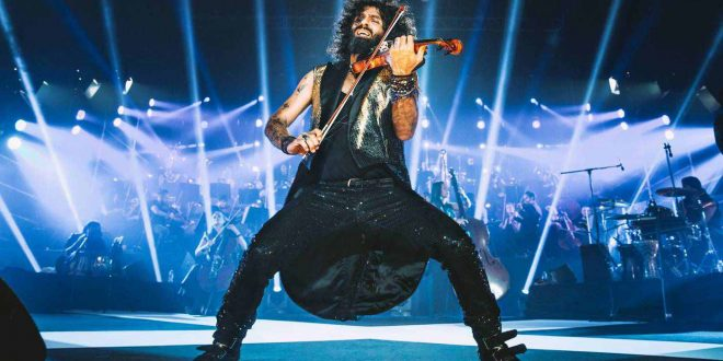 Ara Malikian recibirá el Premio Global en los XVIII Premios de la Música Aragonesa. Foto: Jal Lux.