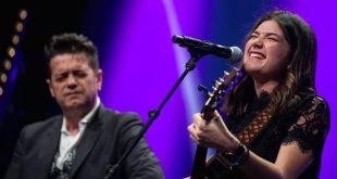 Santiago Auserón y Begut durante la gala de los XVIII Premios de la Música Aragonesa Aragón Musical