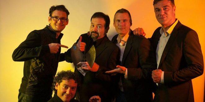 B Vocal con su Premio Especial a la Trayectoria en los XVI Premios de la Música Aragonesa Aragón Musical.