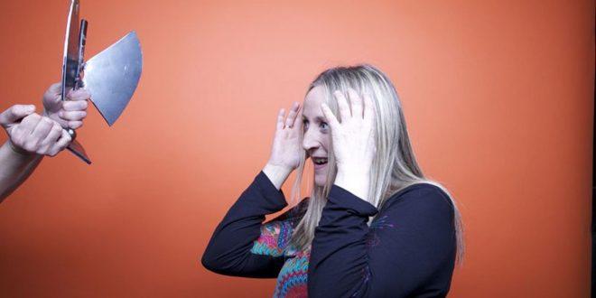 Aurora Beltrán tras recoger el Premio Global de la Música Aragonesa en 2012. Por Gustaff Choos.