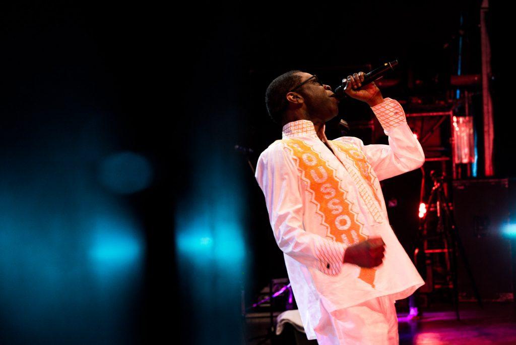 Youssou N´Dour, por Jaime Oriz