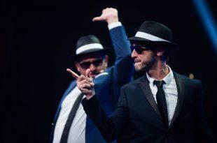 El programa 'De Ratones y Vinilos', presentado por Starkytch Pinchadiscos: Juan Carlos Higueras y Mariano Bazco.