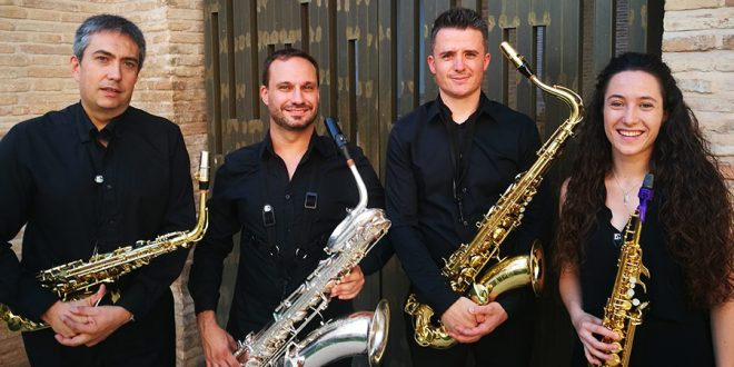 Slap Saxophone Quartet