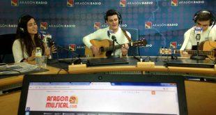Cómplices del Viento en la sección En Vivo de Aragón Radio