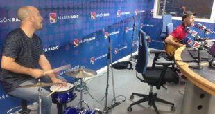 Ricochefo durante la sección Aragón Musical 'En Vivo' de Aragón Radio