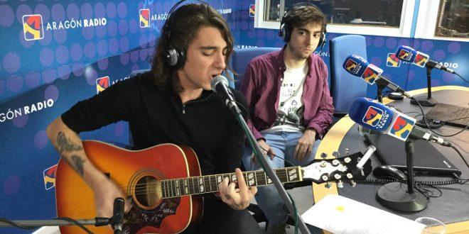 Noa A durante su paso por Aragón Musical 'En Vivo'