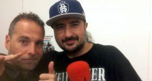 Sho-Hai con Sergio Falces tras la grabación del Podcast Diez de diciembre de 2017