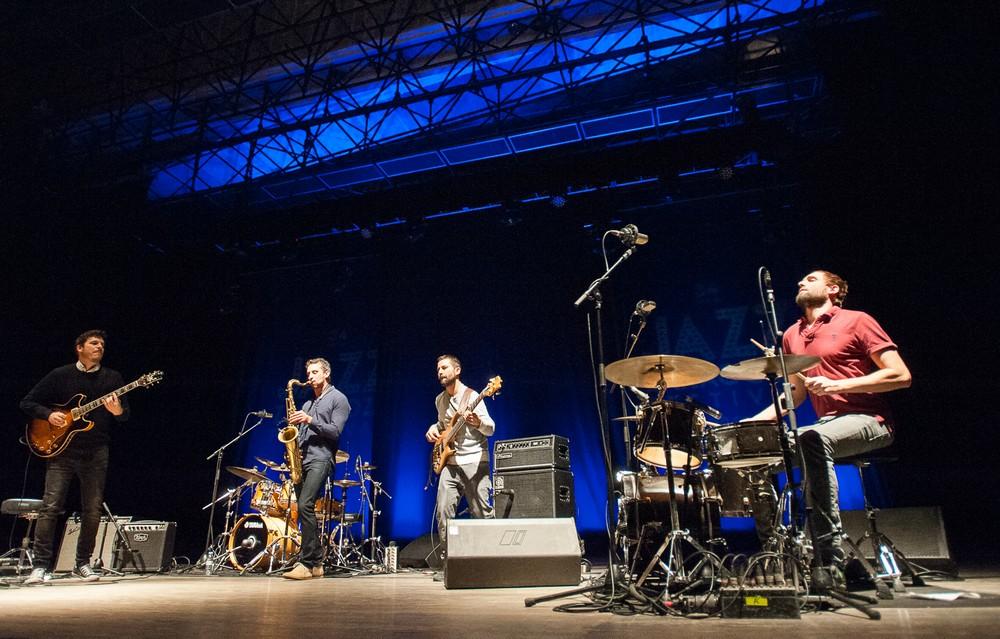The Cominmens el 24 de noviembre de 2017 en la Sala Multiusos. Foto de Ángel Burbano