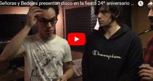 Señoras y Bedeles han hablado para Aragón Musical Tv