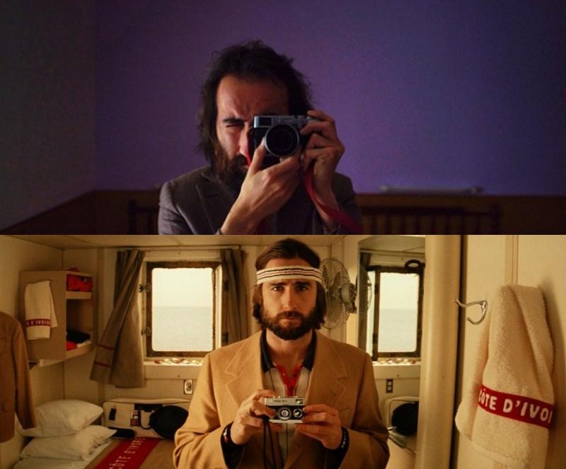 Sus selfies le delatan. El músico de Calavera, Álex Ortega, es Luke Wilson en la película Royal Tenenbaums.