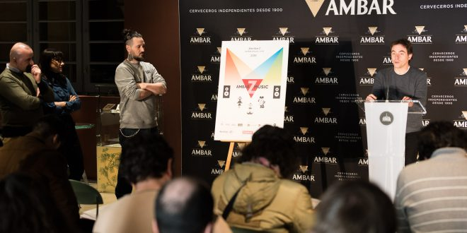 Presentación AmbarZMusic 2018. Foto Jaime Oriz