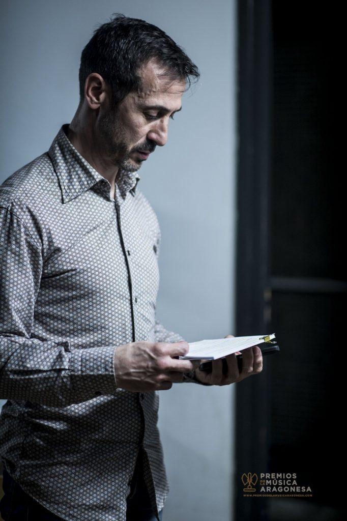 Juan Carlos Higueras. Momentos antes de la gala. Foto, Marcos Cebrián