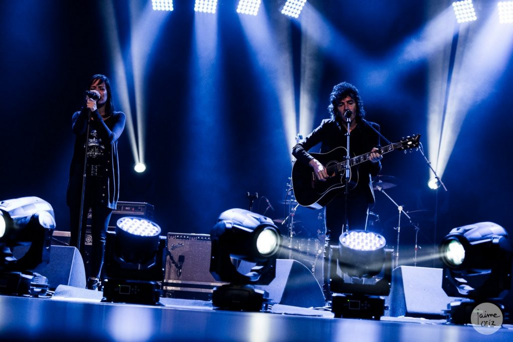 Clara Téllez y Rubén Pozo. Foto, Jaime Oriz