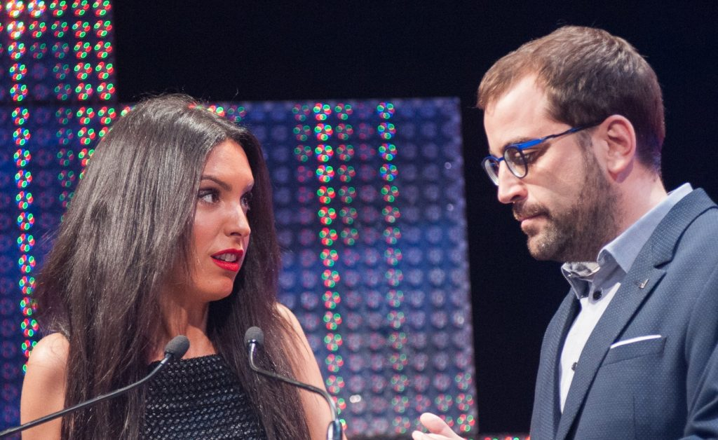 Natalia Fondevilla y Oscar Vegas. Foto, Ángel Burbano